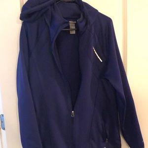 Dark purple Champion C9full zip jacket